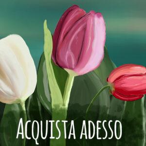 bottone acquista - vai alla scheda tulipani
