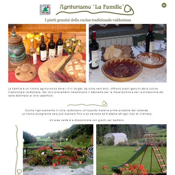 sito internet la Famille