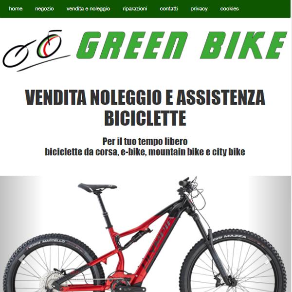 Sito internet Green bike
