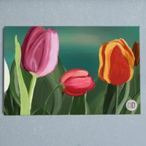 quadro tulipano c