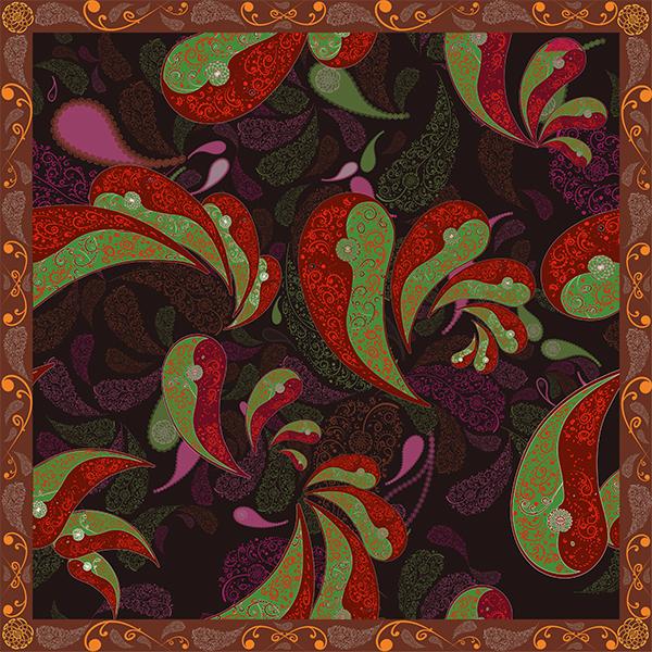 foulard boteh 1